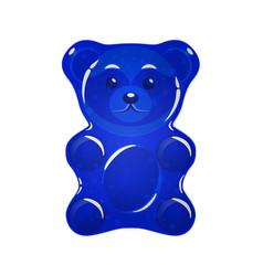 Jelly bears set vector