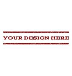 Your design here watermark stamp vector