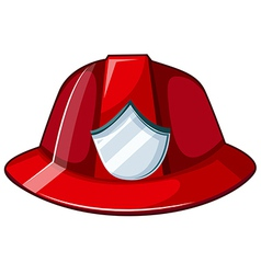 Fire helmet vector