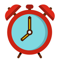 Alarm clock icon isolated vector