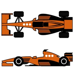 Racing car vector