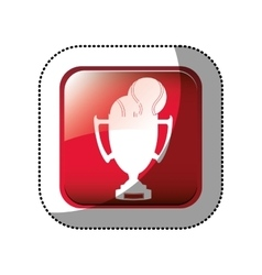 Championship trophy cup vector