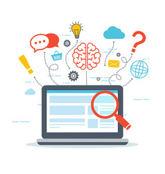 Web analytics and information vector