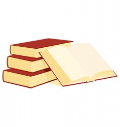 bale of books vector image