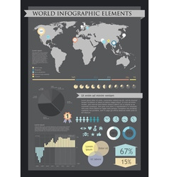 Information graphics vector