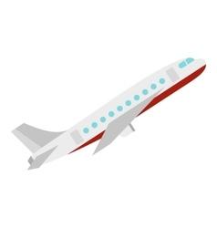 Plane icon flat style vector