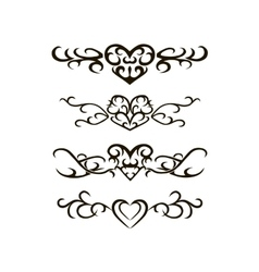 Tribal tattoo stencil vector