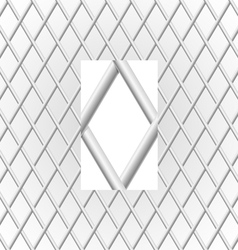 Metal grid vector