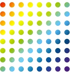 Abstract multicolored circles background vector