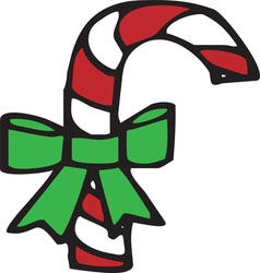 Candy cane vector