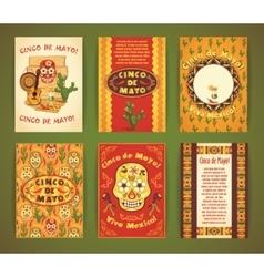 Cinco de Mayo Big set of templates with vector image