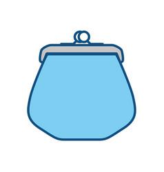 money wallet purse vector image vector image