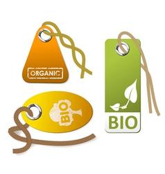 organic goods vector image