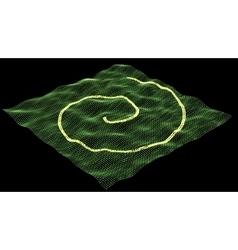 Digital technology GPS traffic background Stock vector image