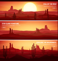 desert trip extreme tourism and travelling back vector image