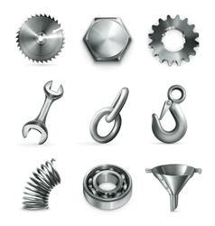 Industry set of icons vector