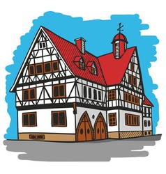 House germany vector