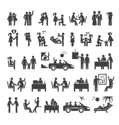 Big set of icons vector