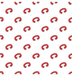 Circular arrow pattern cartoon style vector