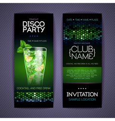 Disco Corporate identity templates vector image vector image