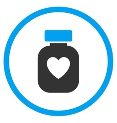 Favorite Medication Icon vector image