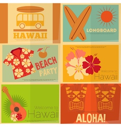 hawaii vector image vector image