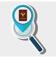 Search pin travel location vector