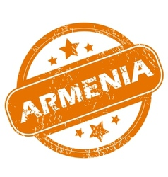 Armenia grunge icon vector