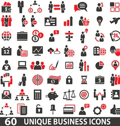 Iconsbusinessred vector