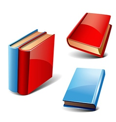 Books set vector