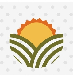 Farm fresh icon design vector
