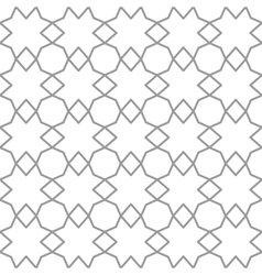 Seamless geometric patterns set grey and white vector