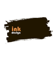 ink banner vector image vector image