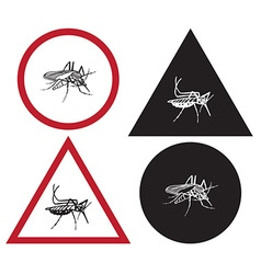 Mosquito is sign of attention vector