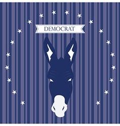 Democrat vector image