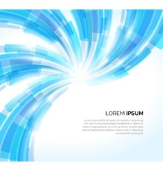 Abstract blue lines business background vector image
