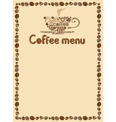 menu simply vector image