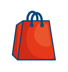 Shopping bag symbol vector