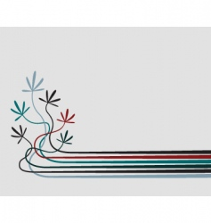 seedlings vector image