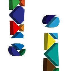 3d exclamation mark symbol vector
