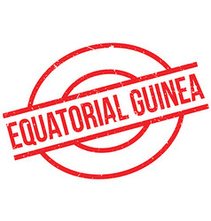 Equatorial Guinea rubber stamp vector image