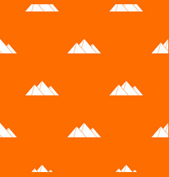 pyramids pattern seamless vector image