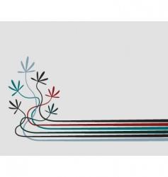 seedlings vector image vector image