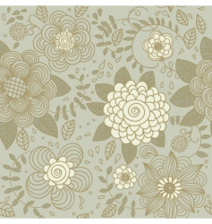 texture with flowers vector image vector image