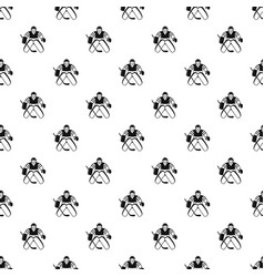 hockey goalkeeper pattern vector image