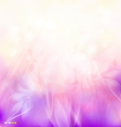 Abstract sunshine colorful floral flow background vector