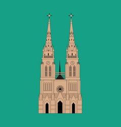 Basilica of our lady of lujan vector