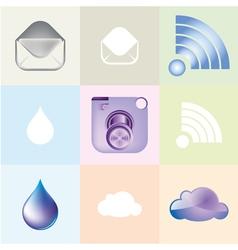 modern camera vector image