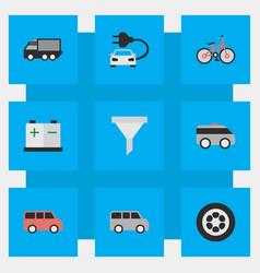 Set of simple transportation vector