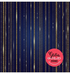 Background glitter gold shining strips vector